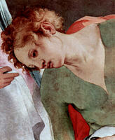 Descent from the Cross, detail.  Pontormo, Jacopo da, 1494-1556  Click to enter image viewer  Use the Save buttons below to save any of the available image sizes to your computer.