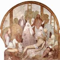 Descent from the Cross.  Pontormo, Jacopo da, 1494-1556  Click to enter image viewer  Use the Save buttons below to save any of the available image sizes to your computer.