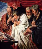 Four Evangelists.  Jordaens, Jacob, 1593-1678  Click to enter image viewer  Use the Save buttons below to save any of the available image sizes to your computer.