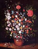 Still Life with Flowers.  Bruegel, Jan, 1568-1625  Click to enter image viewer  Use the Save buttons below to save any of the available image sizes to your computer.