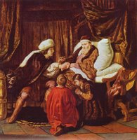 Joseph and Jacob.  Victors, Jan, 1619-1676  Click to enter image viewer  Use the Save buttons below to save any of the available image sizes to your computer.