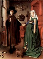 Arnolfini Wedding.  Eyck, Jan van, 1390-1440  Click to enter image viewer  Use the Save buttons below to save any of the available image sizes to your computer.