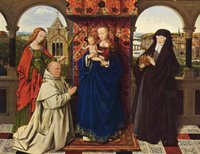Madonna with the Christ Child.  Eyck, Jan van, 1390-1440  Click to enter image viewer  Use the Save buttons below to save any of the available image sizes to your computer.