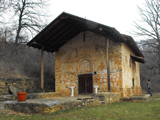Kurbinovo, Church of St. George.   Click to enter image viewer  Use the Save buttons below to save any of the available image sizes to your computer.