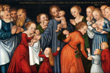 Christ Blessing the Children.  Cranach, Lucas, 1515-1586  Click to enter image viewer  Use the Save buttons below to save any of the available image sizes to your computer.