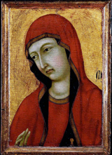 Mary Magdalene.  Ugolino di Nerio  Click to enter image viewer  Use the Save buttons below to save any of the available image sizes to your computer.