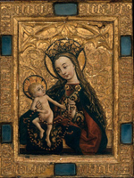 Virgin and Child.   Click to enter image viewer  Use the Save buttons below to save any of the available image sizes to your computer.