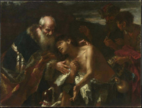 The Return of the Prodigal Son.  Brandl, Peter, 1668-1735  Click to enter image viewer  Use the Save buttons below to save any of the available image sizes to your computer.