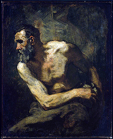 A Miser (Study for Timon of Athens).  Couture, Thomas, 1815-1879  Click to enter image viewer  Use the Save buttons below to save any of the available image sizes to your computer.