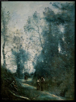 Turn in the Road.  Corot, Jean-Baptiste-Camille, 1796-1875  Click to enter image viewer  Use the Save buttons below to save any of the available image sizes to your computer.