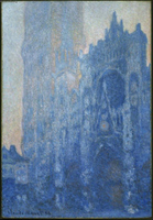 Rouen Cathedral Facade and Tour d'Albane (Morning Effect).  Monet, Claude, 1840-1926  Click to enter image viewer  Use the Save buttons below to save any of the available image sizes to your computer.