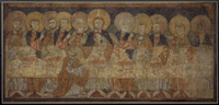 The Last Supper Frieze (form the Church of San Baudelio near Berlanga).   Click to enter image viewer  Use the Save buttons below to save any of the available image sizes to your computer.