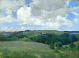 Clouds (Landscape near Cornish).  Platt, Charles A. (Charles Adams), 1861-1933  Click to enter image viewer  Use the Save buttons below to save any of the available image sizes to your computer.