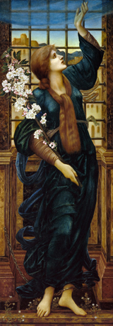 Hope.  Burne-Jones, Edward Coley, 1833-1898  Click to enter image viewer  Use the Save buttons below to save any of the available image sizes to your computer.