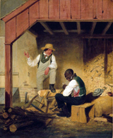 In the Woodshed.  Clonney, James Goodwyn, 1812-1867  Click to enter image viewer  Use the Save buttons below to save any of the available image sizes to your computer.