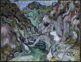 Ravine.  Gogh, Vincent van, 1853-1890  Click to enter image viewer  Use the Save buttons below to save any of the available image sizes to your computer.