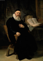 Reverend Johannes Elison.  Rembrandt Harmenszoon van Rijn, 1606-1669  Click to enter image viewer  Use the Save buttons below to save any of the available image sizes to your computer.