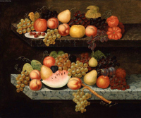 Still Life with Fruit.  Chandler, Joseph Goodhue, 1813-1884  Click to enter image viewer  Use the Save buttons below to save any of the available image sizes to your computer.