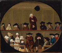 Quaker Meeting.   Click to enter image viewer  Use the Save buttons below to save any of the available image sizes to your computer.