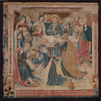 Tapestry - The Last Supper.   Click to enter image viewer  Use the Save buttons below to save any of the available image sizes to your computer.