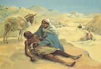 The Good Samaritan.  JESUS MAFA  Click to enter image viewer  Use the Save buttons below to save any of the available image sizes to your computer.