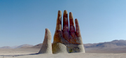 Desert's Hand.  Irarrázabal, Mario, 1940-  Click to enter image viewer  Use the Save buttons below to save any of the available image sizes to your computer.