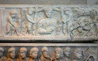 Sarcophagus of Marcus Claudianus.   Click to enter image viewer  Use the Save buttons below to save any of the available image sizes to your computer.