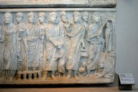 Sarcophagus of Marcus Claudianus-Miracles.   Click to enter image viewer  Use the Save buttons below to save any of the available image sizes to your computer.