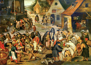Seven Works of Mercy.  Bruegel, Pieter, 1564-1638  Click to enter image viewer  Use the Save buttons below to save any of the available image sizes to your computer.