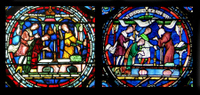 Bible Window - Canterbury Cathedral.   Click to enter image viewer  Use the Save buttons below to save any of the available image sizes to your computer.