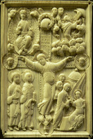 Crucifixion of Jesus on Ivory.   Click to enter image viewer  Use the Save buttons below to save any of the available image sizes to your computer.