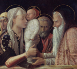 Presentation of Christ in the Temple.  Bellini, Giovanni, 1426?-1516  Click to enter image viewer  Use the Save buttons below to save any of the available image sizes to your computer.