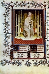King David from the Psalter of Jean de Berry.  Beauneveu, André, approximately 1335-approximately 1403  Click to enter image viewer  Use the Save buttons below to save any of the available image sizes to your computer.