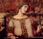 Concordia, or Concord, detail from the Allegory of Good and Bad Government.  Lorenzetti, Ambrogio, 1285-approximately 1348  Click to enter image viewer  Use the Save buttons below to save any of the available image sizes to your computer.