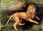Lion.  Dürer, Albrecht, 1471-1528  Click to enter image viewer  Use the Save buttons below to save any of the available image sizes to your computer.