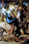 Flight into Egypt.  Dürer, Albrecht, 1471-1528  Click to enter image viewer  Use the Save buttons below to save any of the available image sizes to your computer.