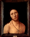 Ecce Homo - 'Here is the Man'.  Antonello, da Messina, 1430?-1479  Click to enter image viewer  Use the Save buttons below to save any of the available image sizes to your computer.