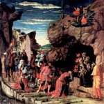 Adoration of the Three Kings.  Mantegna, Andrea, 1431-1506  Click to enter image viewer  Use the Save buttons below to save any of the available image sizes to your computer.