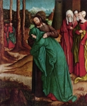 Christ Taking Leave of Mary.  Strigel, Bernhard, 1460 or 1461-1528  Click to enter image viewer  Use the Save buttons below to save any of the available image sizes to your computer.