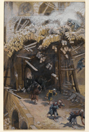 Tower of Siloam.  Tissot, James Jacques Joseph, 1836-1902  Click to enter image viewer  Use the Save buttons below to save any of the available image sizes to your computer.