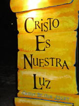 Cristo Es Nuestra Luz.   Click to enter image viewer  Use the Save buttons below to save any of the available image sizes to your computer.