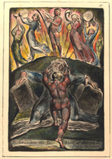 To Annihilate the Self-hood of Deceit and False Forgiveness.  Blake, William, 1757-1827  Click to enter image viewer  Use the Save buttons below to save any of the available image sizes to your computer.