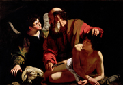 Sacrifice of Isaac.  Caravaggio, Michelangelo Merisi da, 1573-1610  Click to enter image viewer  Use the Save buttons below to save any of the available image sizes to your computer.