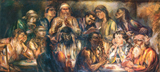 Last Supper.  Kernstok, Károly, 1873-1940  Click to enter image viewer  Use the Save buttons below to save any of the available image sizes to your computer.
