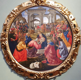 Adoration of the Three Kings.  Ghirlandaio, Domenico, 1449-1494  Click to enter image viewer  Use the Save buttons below to save any of the available image sizes to your computer.