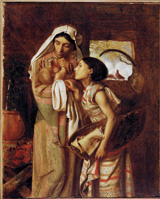 Mother of Moses.  Solomon, Simeon, 1840-1905  Click to enter image viewer  Use the Save buttons below to save any of the available image sizes to your computer.