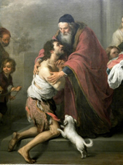 Prodigal Son.  Murillo, Bartolomé Esteban, 1617-1682  Click to enter image viewer  Use the Save buttons below to save any of the available image sizes to your computer.