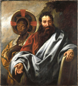 Moses and his Ethiopian Wife Sephora.  Jordaens, Jacob, 1593-1678  Click to enter image viewer  Use the Save buttons below to save any of the available image sizes to your computer.